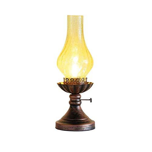 Vintage Tischlampe Vintage Kerosin Modellierung Studie Restaurant Cafe Schlafzimmer Nachttischlampe Kreative Persönlichkeit Dekorative Tischlampe Dekorative Tischlampe