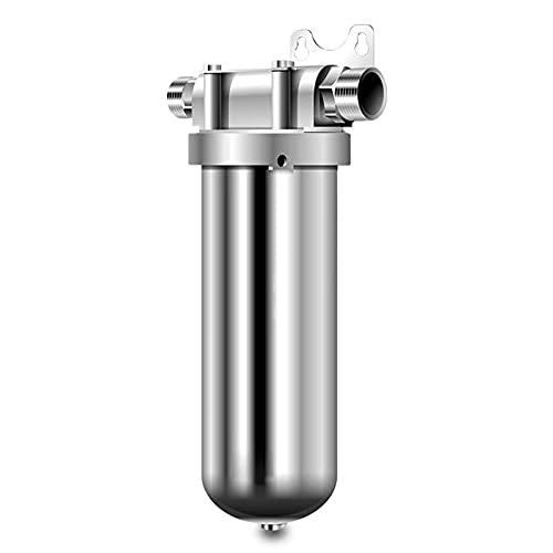 COUYY Nuevo 304 Acero Inoxidable Agua de Grifo Purificador de Agua Central Filtro Delantero de la casa Purificador de Agua