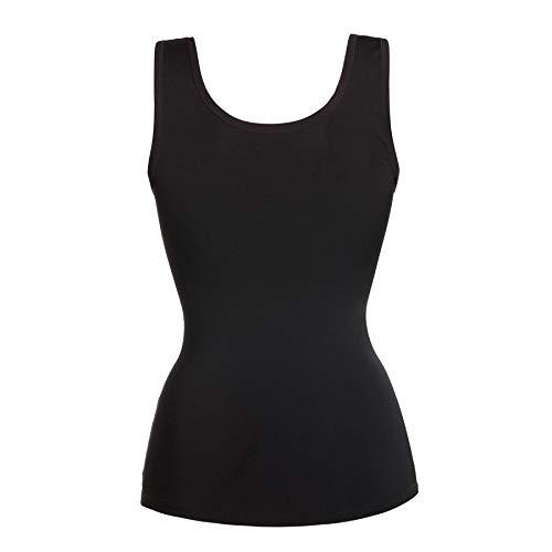 CNKM Amplio Shoulder Shapers Chaleco Redu Body Shaper Mujeres Cintura Trainer Tummy Control Corsé Ropa Interior, M