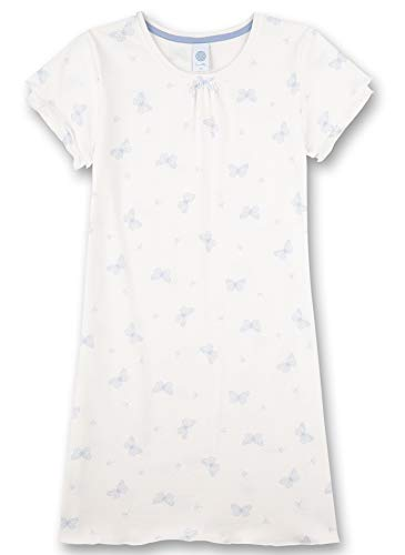 Sanetta Mädchen beige Nachthemd, White Pebble, 164