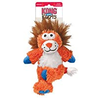 KONG Cross Knots are the classiest critters in the Knots family. With fun details like crossed legs and animated faces, it's easy to forget how tough these toys are. The internal knotted rope and squeaker satisfies natural instincts and each toy cont...