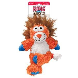 KONG Hundespielzeug, quietschend, Löwe
