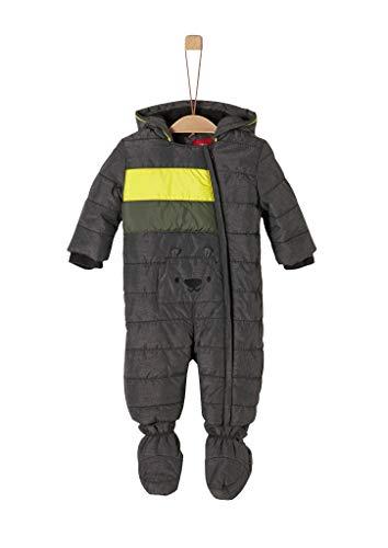 s.Oliver Baby-Jungen 59.909.85.8866 Schneeanzug, Grau (Dark Grey Melange 98w1), (Herstellergröße: 86)
