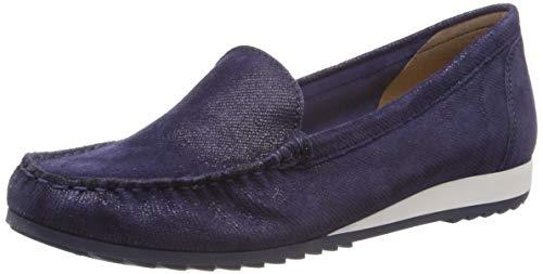 CAPRICE Damen Inoxy Slipper, Blau (Blue Jeans Sue 802), 40 EU