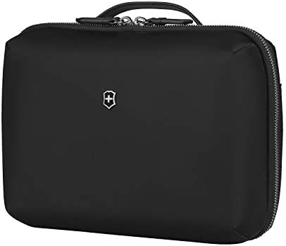 Victorinox Women s Victoria 2 0 Toiletry and Cosmetic Compact Beauty Case Black 4 L product image