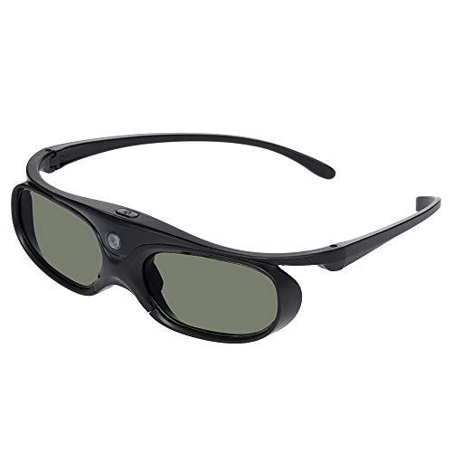 Gamogo GL2100 Proyector Gafas 3D Obturador Activo DLP-Link Recargable para Todos los proyectores DLP 3D Optama Acer BenQ ViewSonic Sharp DELL