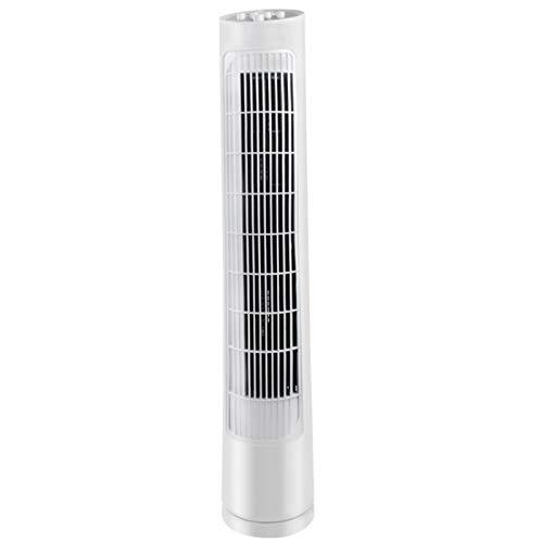 sunyu Ventilador de Torre Oscilante - Columna Ventilador de Pie Potencia 40-60W 3 Velocidad - Blanco - 760 * 140 * 120mm