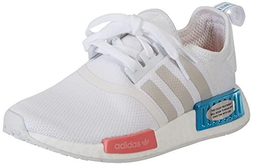 adidas Damen NMD_R1 W Gymnastikschuh, Footwear White Grey One Hazy Rose Fx7074, 41 1/3 EU