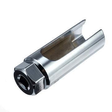 PeroFors 22 Mm 3/8 \'Antriebs-Sauerstoffsensor Lambda-Ausbau-Steckschlüssel Mit Lochfensterdraht - Silber