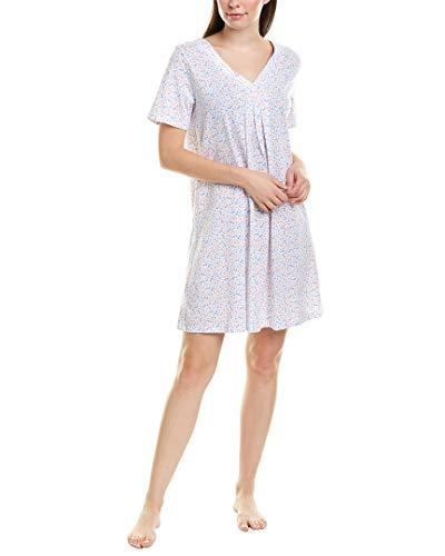 Carole Hochman Cotton Jersey Short Sleeve Sleepshirt Multi Ditsy SM