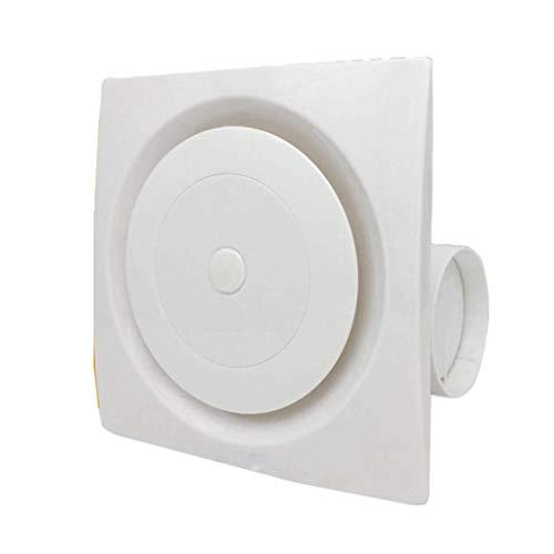 XJJZS Inicio Ventilador de ventilación de Escape Garaje Extractor de Techo Ventilador de Techo, Ventanas y Montaje del Ventilador de Pared for Cocina Baño