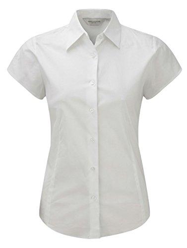 Russell Damen-Shirt, kurzärmelig, pflegeleicht Gr. X-Large, weiß