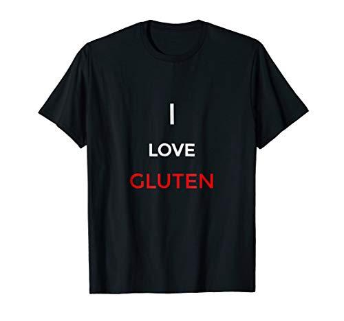 Funny gluten t shirt, gluten free joke, paleo joke