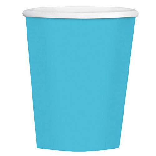 Carribean Blue, Paper Coffee Cups 12 oz., 40 Per Pack