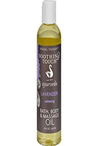 Soothing Touch Bath & Body Oil, 8 oz Lavender