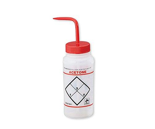 アズワン ラベル付洗浄瓶 11646-0622 アセトン /1-8542-01