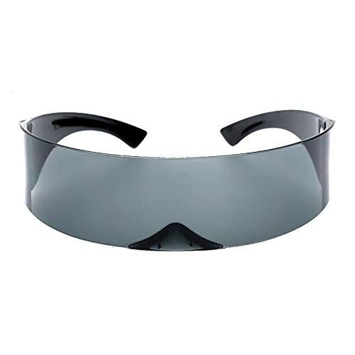 Modische Sonnenbrille Frauen Sonnenbrille Randlose Sonnenbrille Männer Vintage Sonnenbrille Lustige Maske Luxus Retro Herren Sonnenbrille 2
