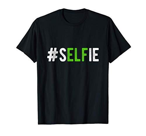 Elfie Selfie Disfraz de duende divertido diseo navideo Camiseta