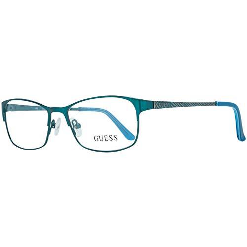 Guess Brille Gu2478 S13 52 Montature, Blu (Blau), 52.0 Donna
