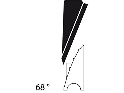 Hirschmann - Auta 8268 823 080-002 Antennenkopf 68° (Golf III)