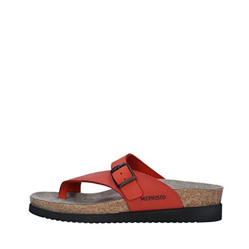 Mephisto Helen Red Scratch Ladies Sandal 37 EU / 4 UK