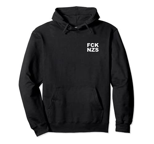 Lustiges Design FCK NZS Pullover Hoodie