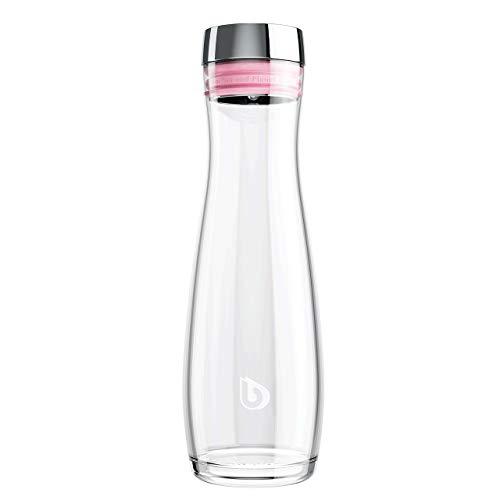 BWT Deluxe Glaskaraffe | Hochwertige, mundgeblasene Kristallglaskaraffe | 1,2 Liter Fassungsvermögen