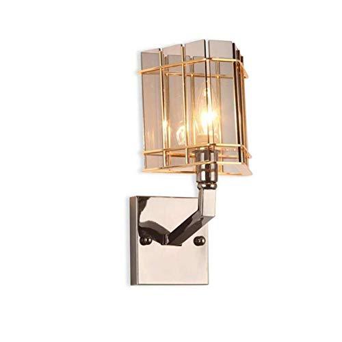 Kristallen kroonluchter muur lamp muur lamp slaapkamer bedlampje postmoderne clubhuis bar gepersonaliseerde mode-kristallen kroonluchter verlichting 20 * 12cm