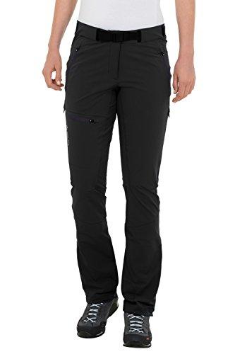 Vaude Badile Pantalon pour femme II longue taille - Noir (Black) - 40