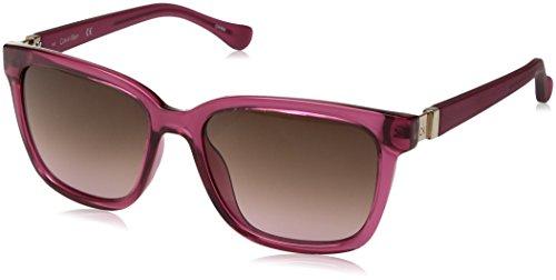 Calvin Klein Women's Ck3190s Square Sunglasses, Rose, 54 mm