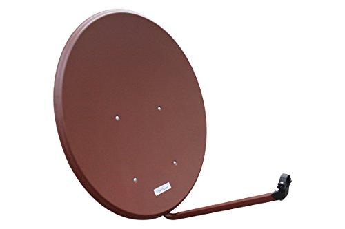 Opticum Antenne SAT Schüssel 80 cm Alu, LH-80 (3 Farben WÄHLBAR) NEU FullHD HDTV