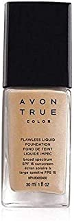 Avon True Colour Flawless Liquid Foundation - Shell - 30 Ml