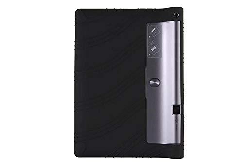 Funda de Silicona Suave Yoga Tab 3 Plus para Lenovo Yoga Tab3 Plus Funda de Tableta para Yoga 10 Pro X90 / x90F / X90M / X90L Funda Suave-Negro