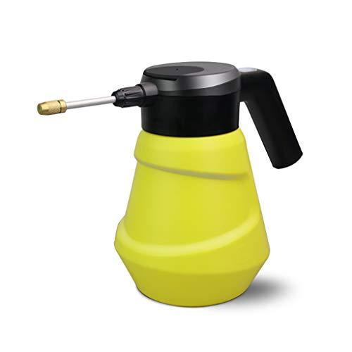 ELSP Pulverizador con Batería de Litio, Pulverizador Impermeable de 2 litros con Boquillas Ajustables para Herbicidas, Fertilizantes, Soluciones de Limpieza Suave y Blanqueador