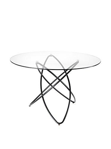 Tomasucci Contemporary Black & White Tavolo Hula Hoop