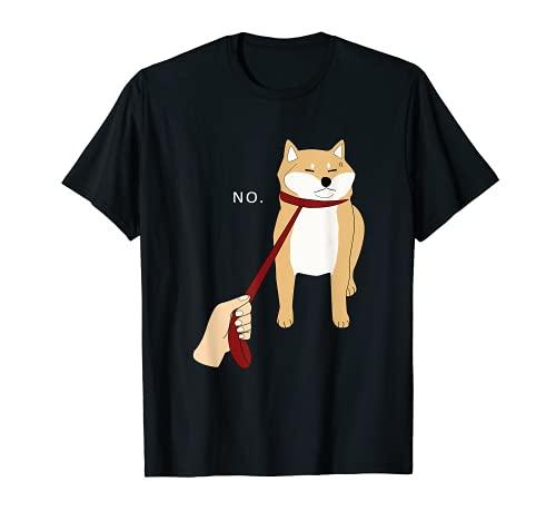 Cute Shiba Inu Shirt Nope - Doge Meme T-shirt B