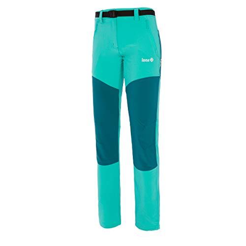 Izas Dorota Pantalones Trekking, Mujer, Verde mar/Agua Marina, L