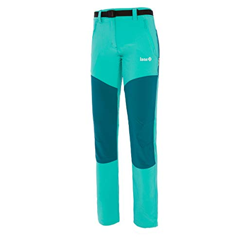 Izas Dorota Pantalones Trekking, Mujer, Verde mar/Agua Marina, M