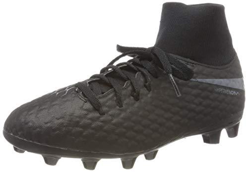 Nike Unisex Hypervenom Phantom III Academy DF AG-Pro Futsalschuhe, Schwarz (Black/Black 001), 37.5 EU
