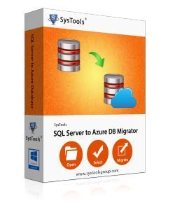 SysTools Serveur SQL vers migrateur de base de données azur (Livraison par courrier électronique - pas de CD)