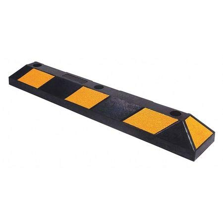 Rubber Black Yellow Parking Curb 3 Ft Special price for Oklahoma City Mall a limited time 4 in Psi 6 426 X 2