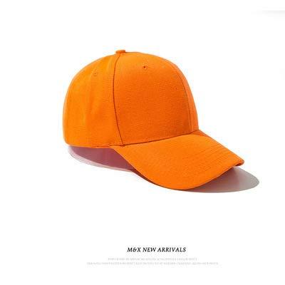 wtnhz Modische Kleidungsstücke Hut Damen Koreanische Version der einfachen und vielseitigen Baseballmütze lässig einfarbig Mütze Herrenhut Sonnenhut Geschenk