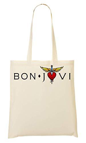 Wicked Design Bon Jovi Logo Tragetasche Einkaufstasche