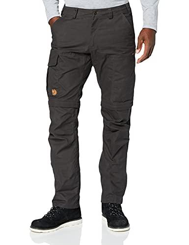 Fjällräven Karl Pro zip off Pantaloni Lunghi Pantaloni, Uomo, Karl Pro Zip-Off Trousers, grigio, 48