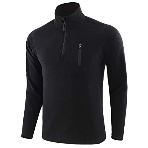 Mens Turtleneck Knitted Tops Zipper Long Sleeve Sweater Casual Outerwear Coat