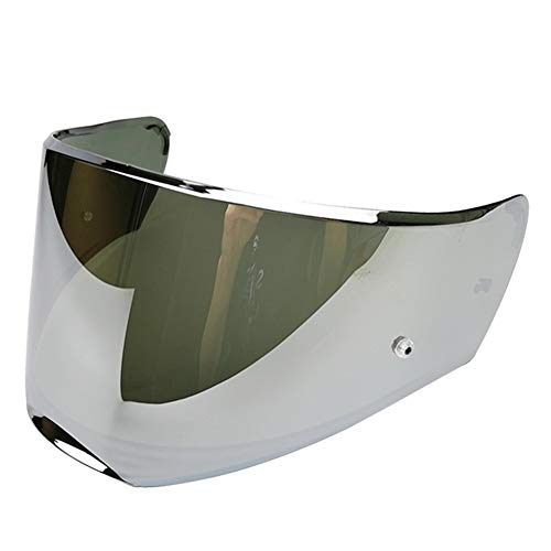 LS2 FF390 Breaker Helmet Visor Replacement Face Shield (Chrome Silver)