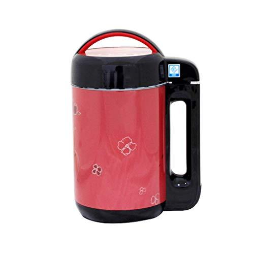 BGSFF Kleine Sojamilchmaschine für den Haushalt, multifunktionale automatische Heizung Intelligente Mini-Filter-Milchshake-Maschine ohne Marmelade