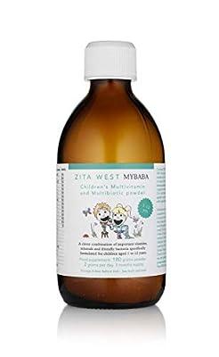 Zita West MyBaba Childrens Multivitamin & MultiBiotic Berry Flavoured Powder - 3 month supply by Zita West