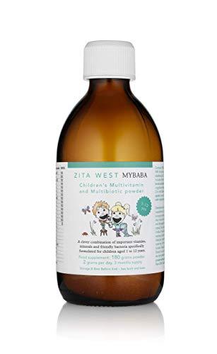 Zita West MyBaba Childrens Multivitamin & MultiBiotic Berry Flavoured Powder - 3 month supply
