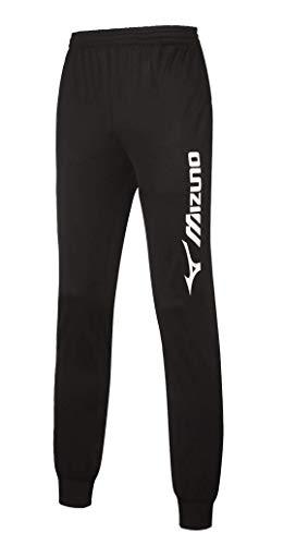 Pantalone Mizuno Team Track sport e tempo libero (S, Nero)